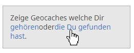 Geocaching Suchfunktion 4
