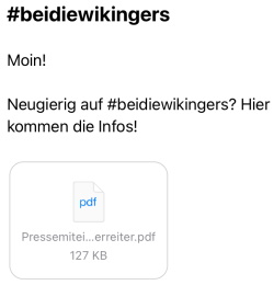 BEI DIE WIKINGERS
